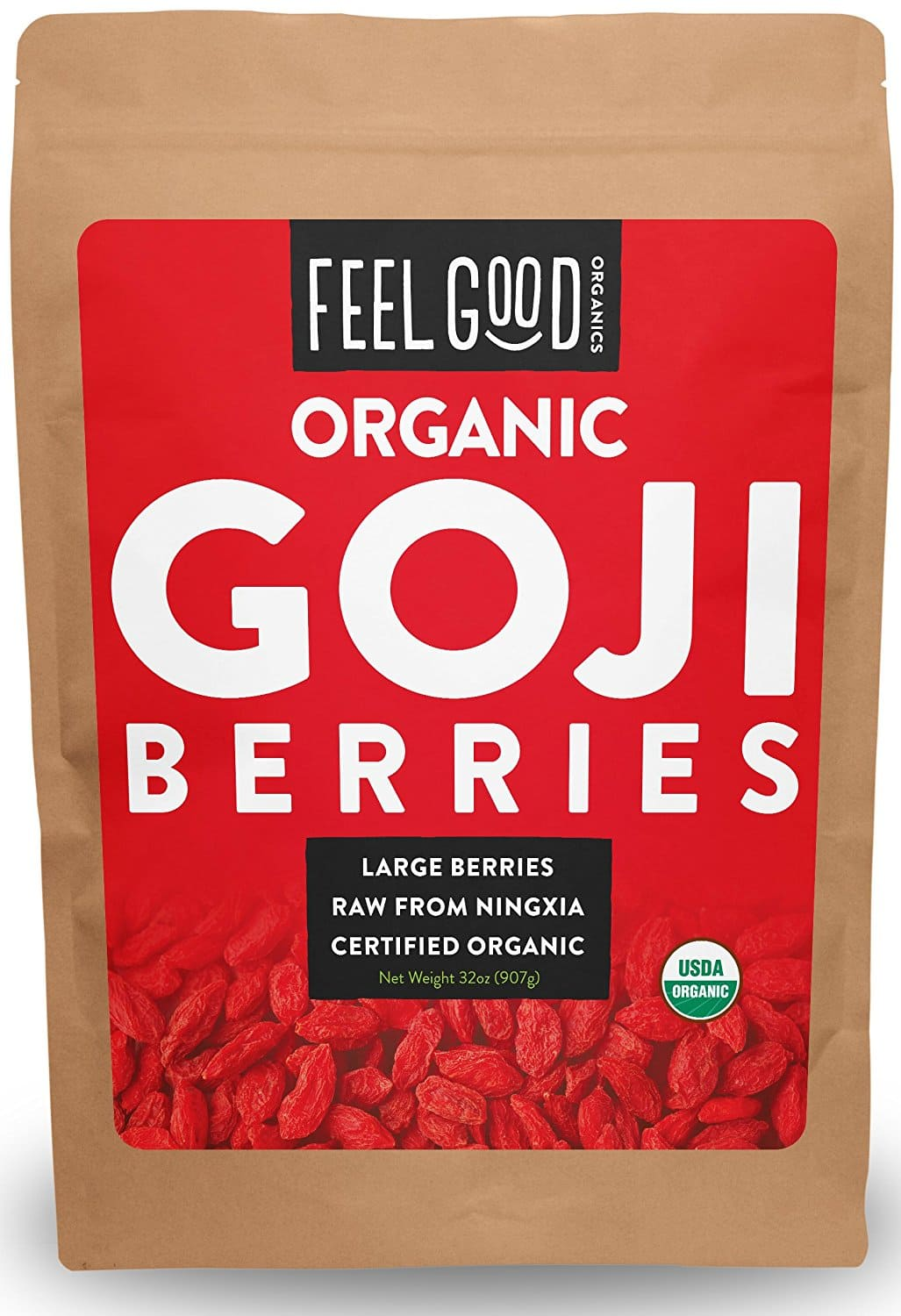 Feel Good Organic Goji Berries and other organics