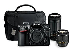 Nikon D7200 DSLR Camera with 18-55mm and 70-300mm Lenses Kit  + DISCOVER  5% Cashback Bonus at Amazon.com $996.95