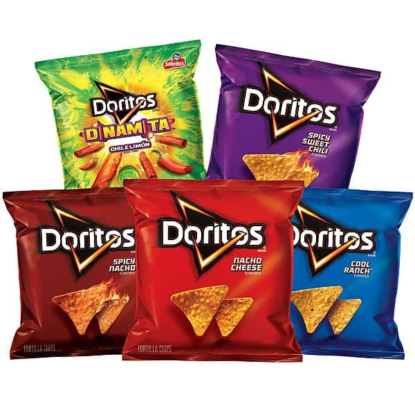 40 count doritos flavored tortilla chip variety pack slickdeals net