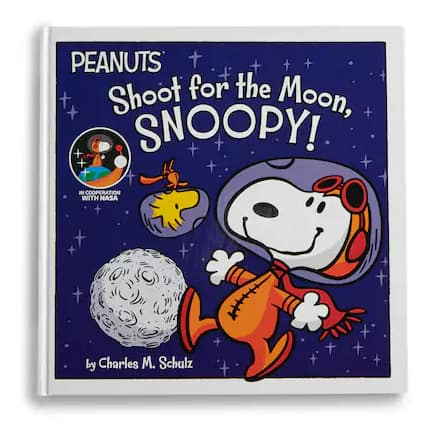 Kohl's Cares Peanuts Shoot for the Moon, Snoopy! Book $2.5