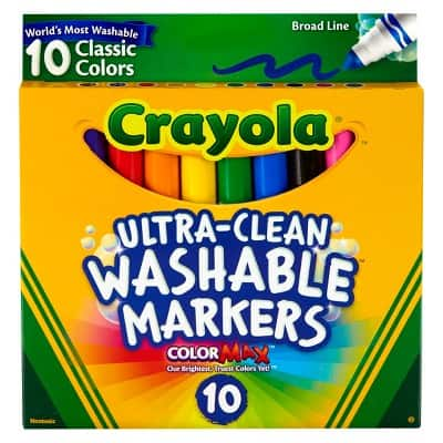 YMMV - Crayola Ultra-Clean Washable Markers - In Store $0.69