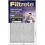 3M Filtrete 1500MFP Ultra Allergen Home Air Filters 3 for $31.76 +tax after MIR at Walmart