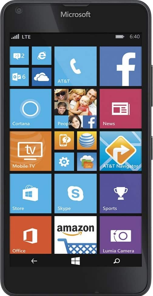Nokia Lumia 640 (AT&T Go Phone) No Annual Contract - $29.99 Back in Stock - BestBuy