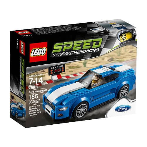 LEGO Speed Champions: Ford Mustang, Bugatti Chiron, Chevy Corvette, Mercedes AMG and others $11.99 each at TRU