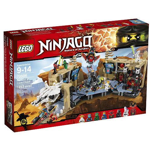 LEGO Ninjago Samurai X Cave Chaos (70596) - TRU 89.99 (28% off)