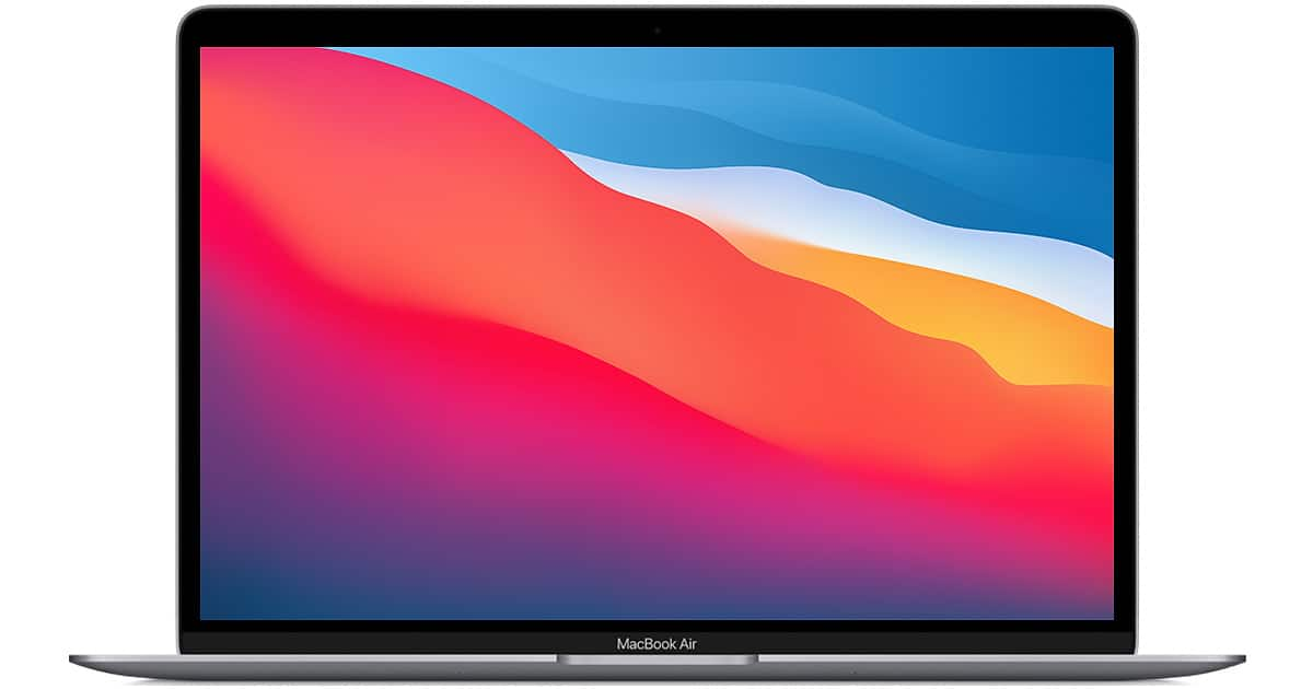 Refurbished 13.3-inch MacBook Air Apple M1 Chip with 8‑Core CPU and 8‑Core GPU - Space Gray $1059