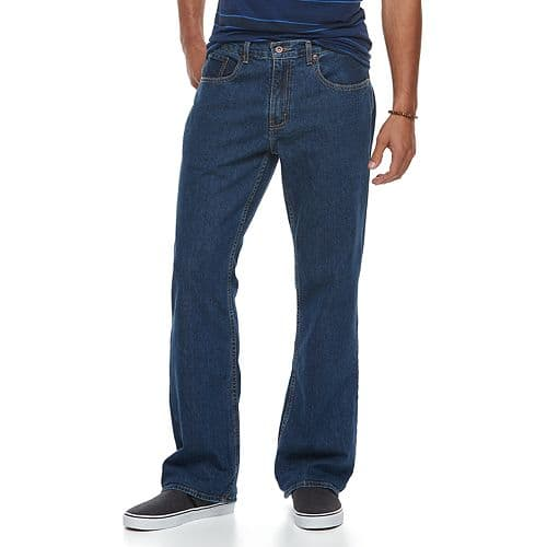 Men's Urban Pipeline® Relaxed-Fit Bootcut Jeans For $13.99