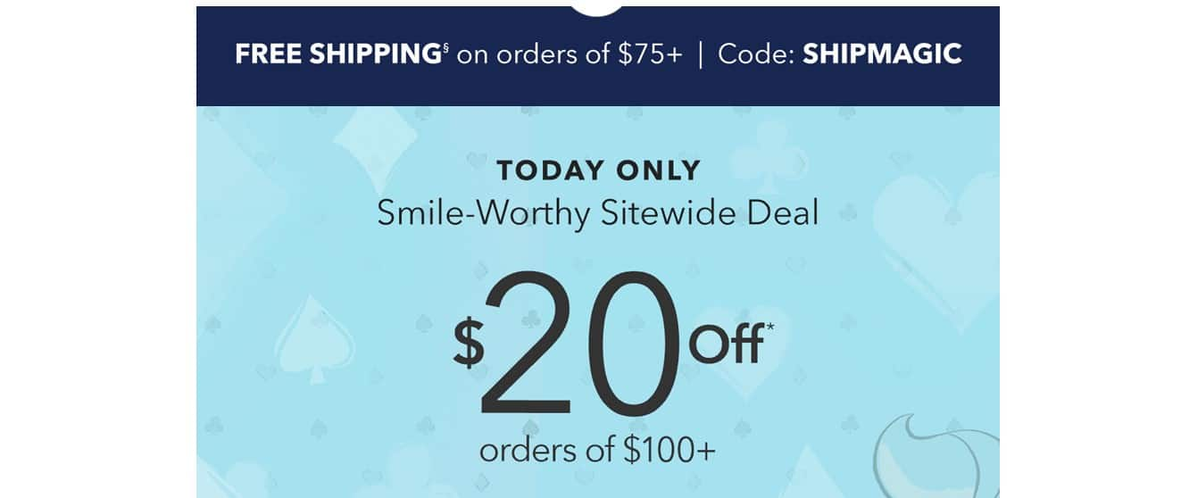 Disney 20 off 100 sitewide with code SAVE20 plus free shipping with code SHIPMAGIC