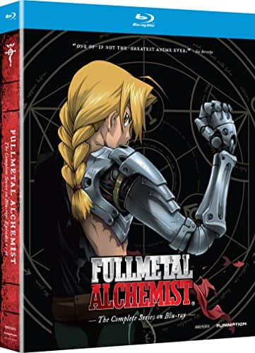 Fullmetal Alchemist: The Complete Series blu-ray $44.19 from Amazon