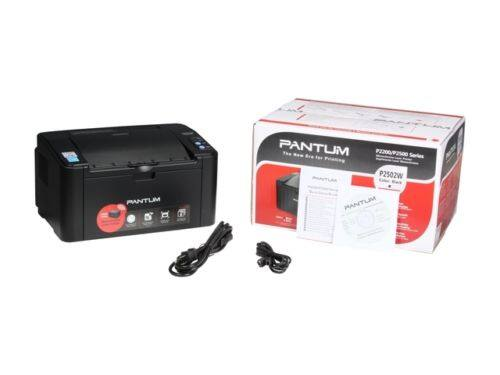 $35 Pantum P2502W 1200 x 1200 DPI Wireless / USB Monochrome Laser Printer