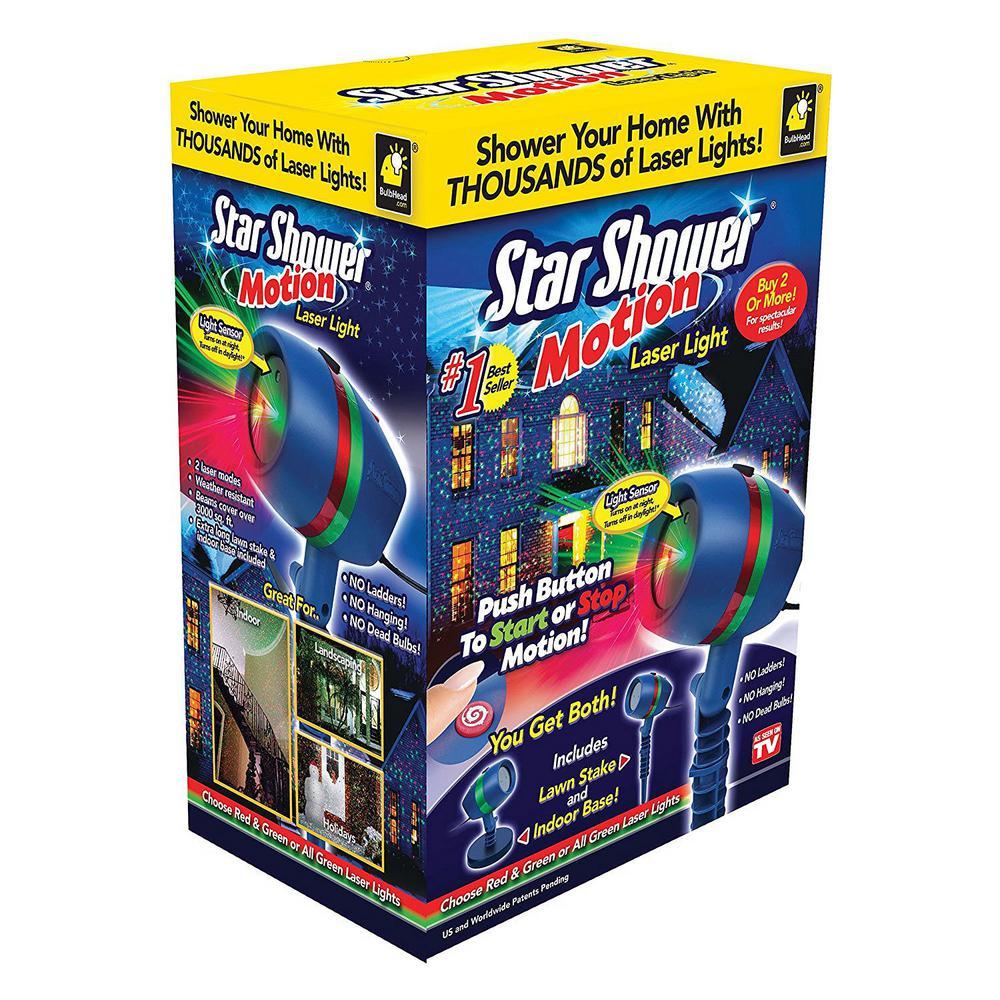 Star Shower w/ Motion $12.49 *Home Depot B&M only, YMMV*