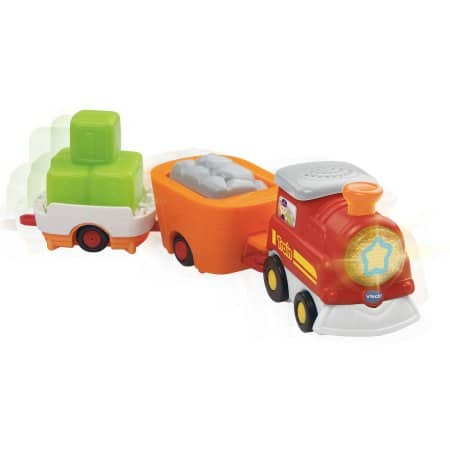 EXPIRED. OOO VTech Go! Go! Smart Wheels Carry-All Cargo Train on Clearance  $8.77, orig $19.99