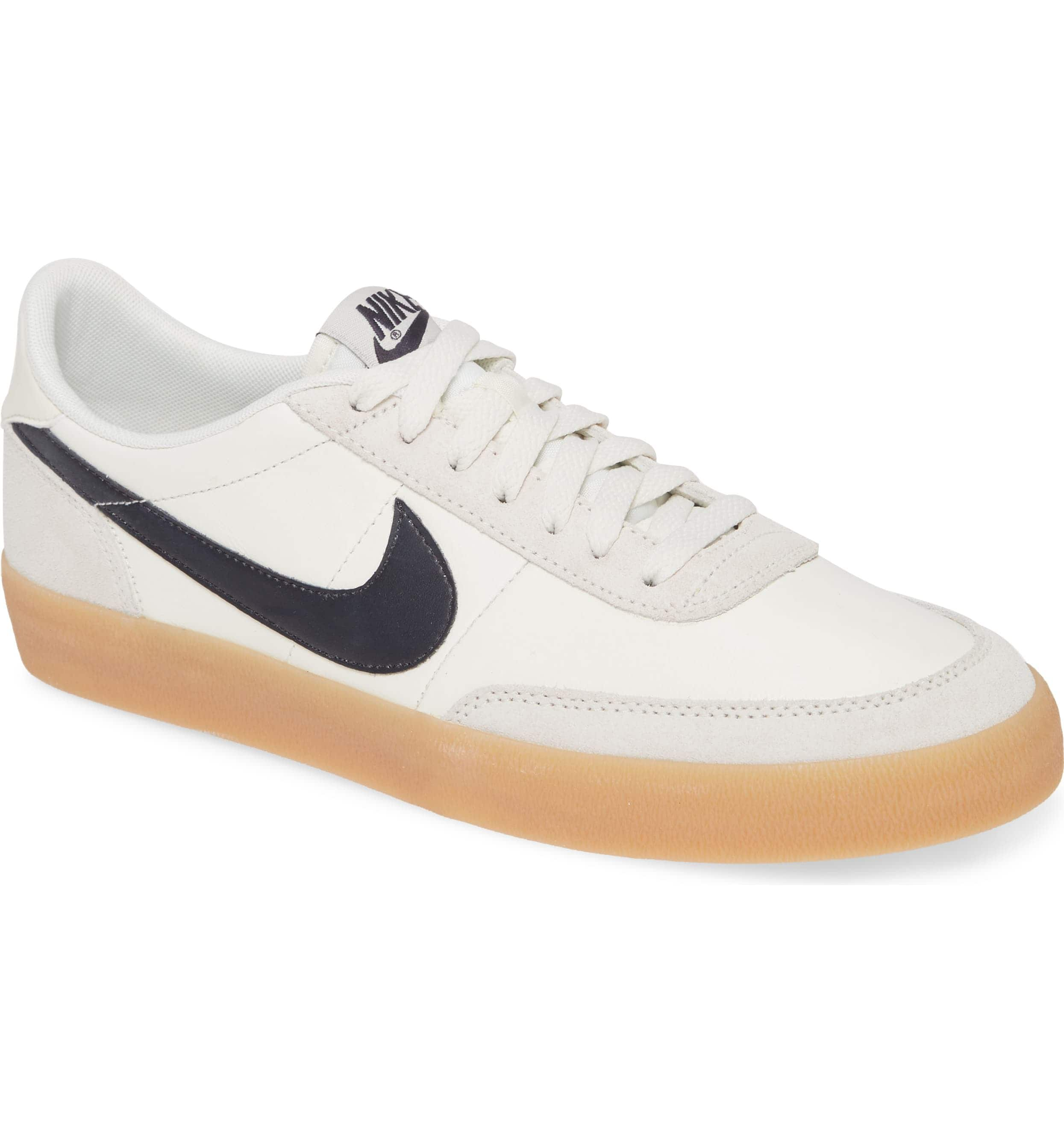 Nike Killshot 2 Sail/ Oil Grey-Gum Yellow $72