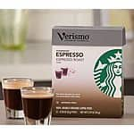 Starbucks Verismo Coffee Pods - $7.82 per box of 12 pods