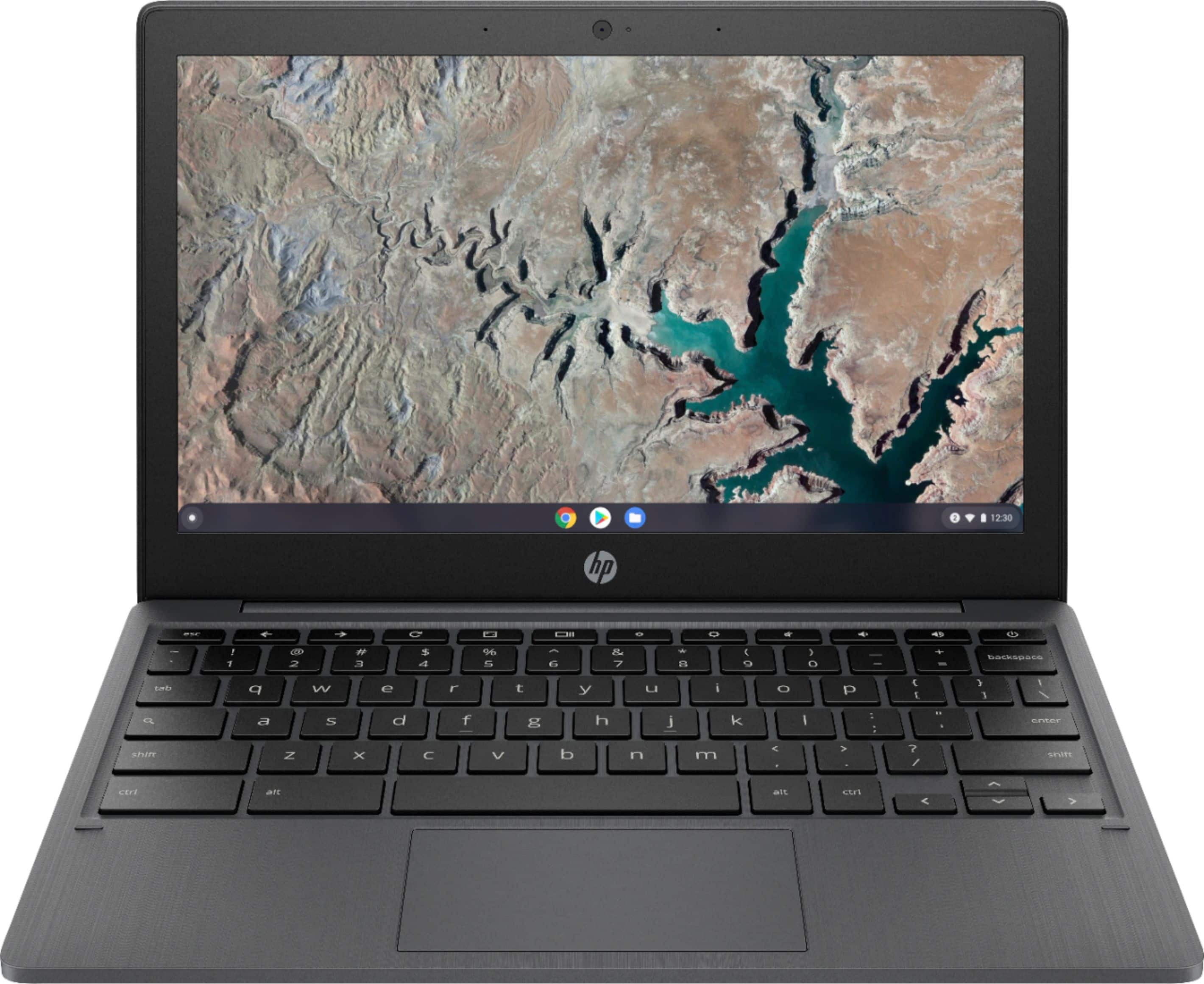 "HP 11.6"" Chromebook MediaTek MT8183 4GB Memory 32GB eMMC Ash Gray 11a-na0010nr - $129.00"