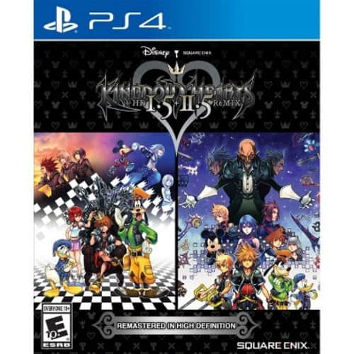 Kingdom Hearts HD 1.5 + 2.5 Remix (PS4)  @Walmart $19