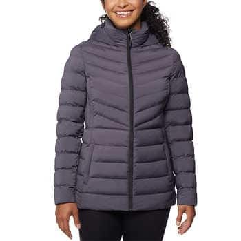 32 Degrees Ladies' Hooded Stretch Jacket $5.00