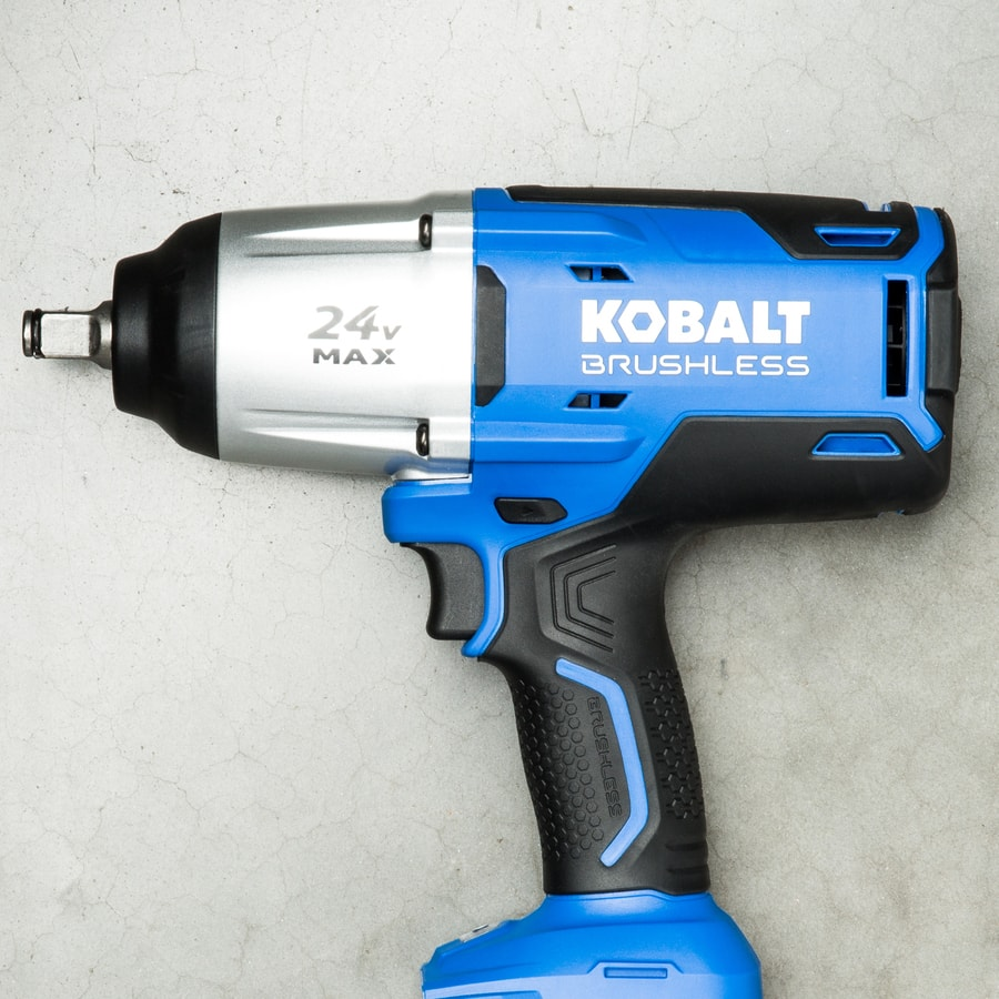 """Kobalt 24v Brushless Cordless 1/2"""" Impact Wrench (Bare Tool) (Lowes:In-Store Only) $47.32 YMMV"""