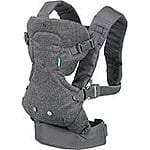 Infantino Flip Front 2 Back Carrier, Black $19.99 FS w/Prime @amazon