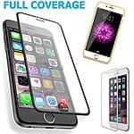 Full Coverage HD Tempered Glass Film Screen Protector for iPhone 6/iPhone 6 Plus - $4.39