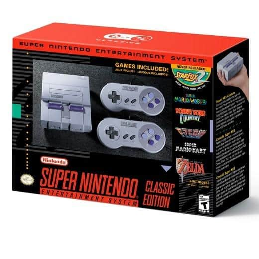 Nintendo SNES Classic at Gamestop In-Store YMMV $79.99