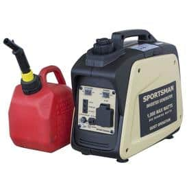 Sportsman 1000watt inverter Generator as low as 135.72 pre tax with 20 off 100.