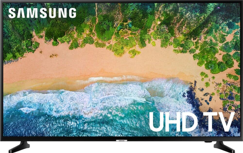 """Samsung - 50"""" Class - LED - NU6900 Series - 2160p - Smart - 4K UHD TV with HDR@$329.99"""