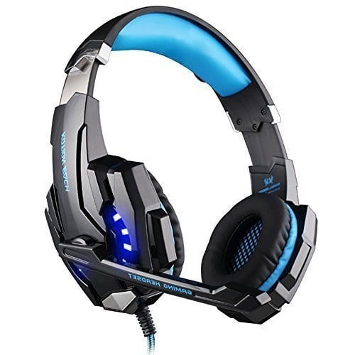 PC Gaming Over-ear Headset 3.5mm With Microphone $19.99 AC @ Amazon