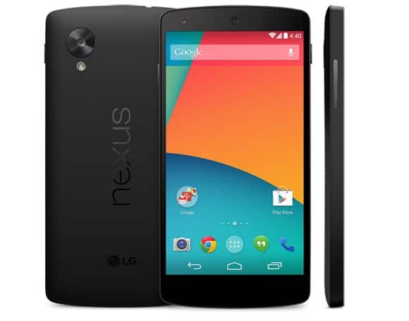 Brand new Nexus 5 $129.00 + one month of service $18.99 free 2-day shipping
