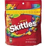 Skittles Original Candy, 9 Ounce Amazon Add-On $1.59