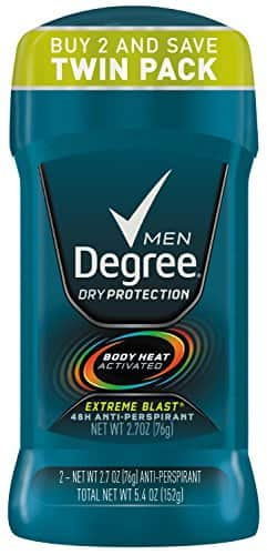 Target Men's Degree Deodorant Twin Pack as low as $3.19/ea With S&S & RedCard
