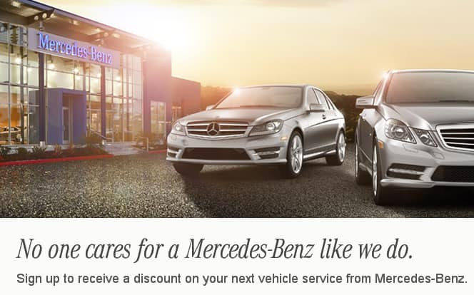 Mercedes benz service coupon 125 for Mercedes benz service discount