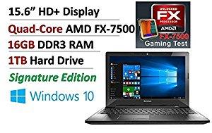 Lenovo gaming laptop Quad-Core AMD FX-7500 with 16G memory @amazon $473