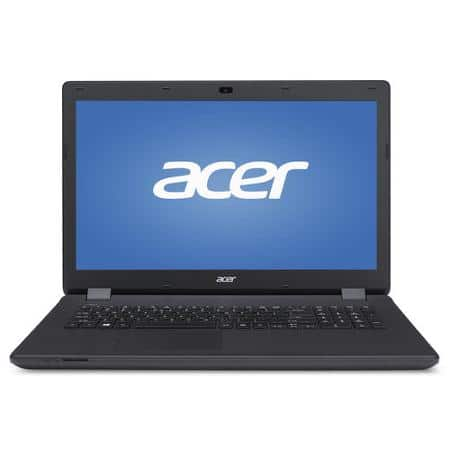 "Walmart YMMV B&M $49 Acer Midnight Black 17.3"" Aspire ES1-711 Laptop PC with Intel Pentium N3540 Quad-Core Processor, 4GB Memory, 500GB Hard Drive and Windows 8.1"