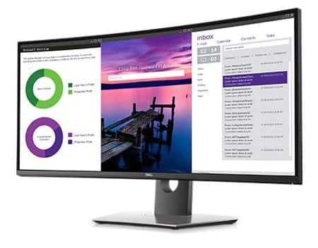 "Dell U3419W Ultrasharp 34"" Curved Ultrawide USB-C Monitor or Alienware AW3418HW (refurbished) $499"