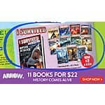 I SURVIVED BOOK SET 11 for $22 Scholastic Reading Club free shipping to School