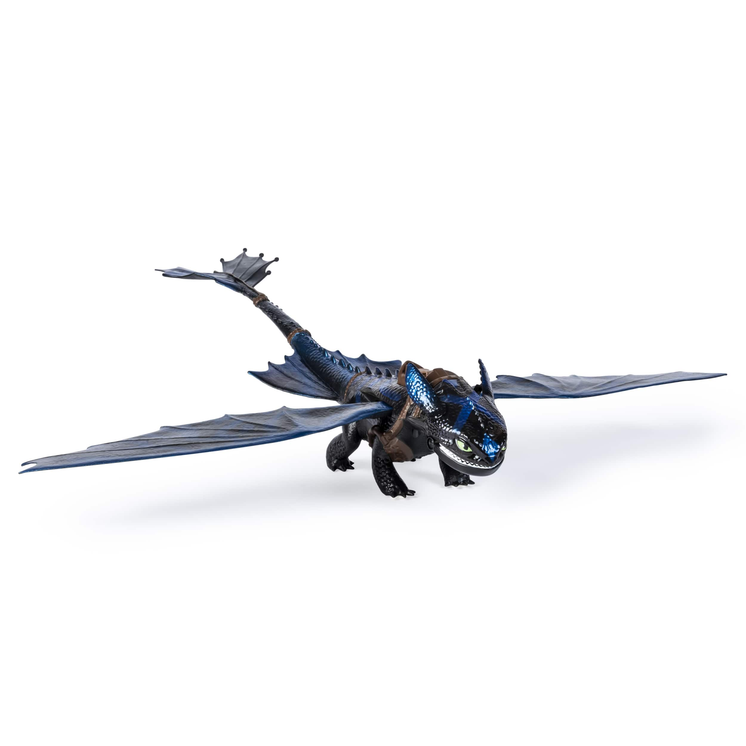 DreamWorks Dragons, Giant Fire Breathing Toothless, 20-inch Dragon with Fire Breathing Effects and Bioluminescent Color, for Kids Aged 4 and Up $9.99 YMWV