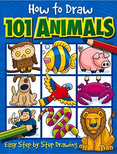 How to Draw 101 Animals $2.55