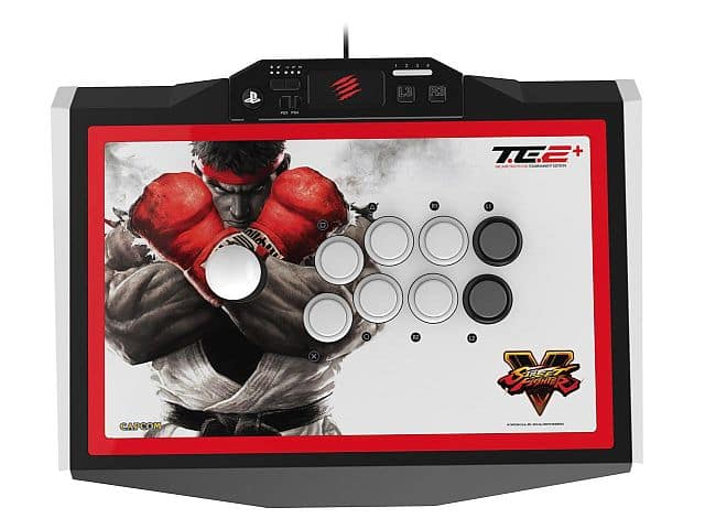 Mad Catz TE2+ arcade fightstick PS4 PS3 + Street Fighter V game $150 @ Newegg