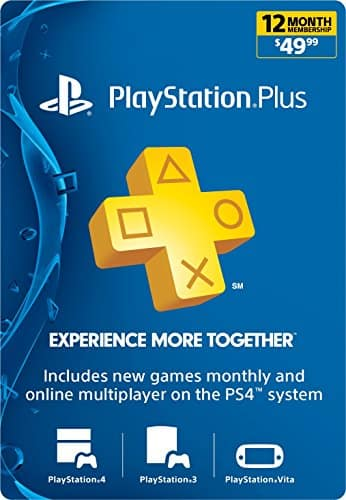 1 year PS Plus Sony Playstation $47.99 or less @ Amazon