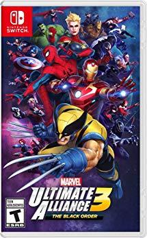 Marvel ultimate alliance 3: The black order nintendo switch region free $43.95