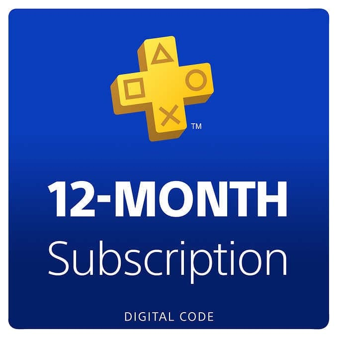 Playstation PS PLUS 1 year membership Costco $39.99