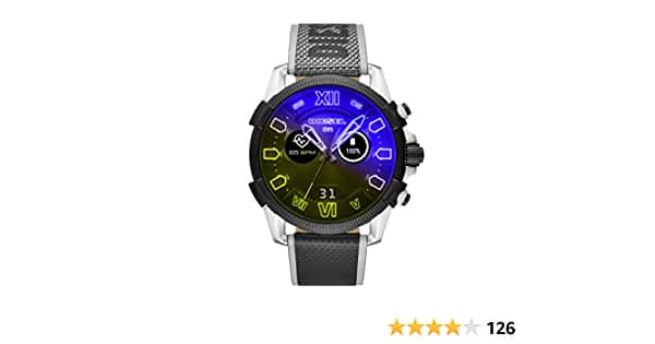 Diesel On Men's Gen 4 Full Guard Heart Rate Touchscreen Smart Watch 48MM Dial $79.99