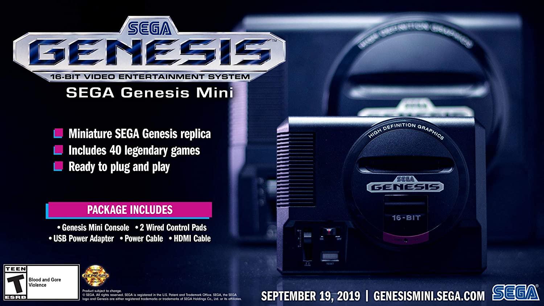 Sega Genesis Mini - Genesis $43.36