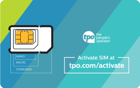 Free SIM from TPO Mobile