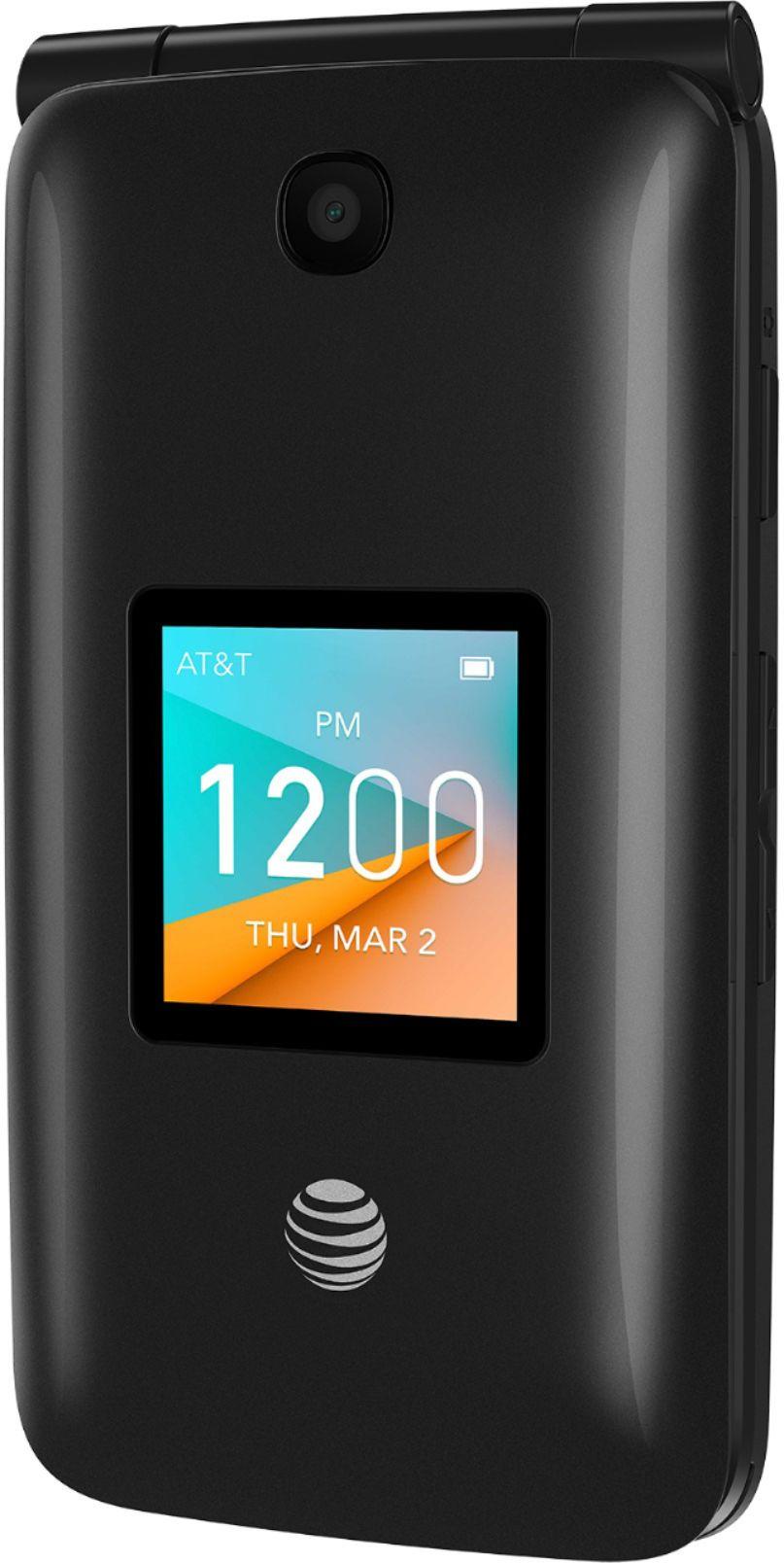 AT&T Prepaid Alcatel Cingular Flip 2 with 4GB Memory Prepaid Cell Phone Dark Gray 4044O - Best Buy $2