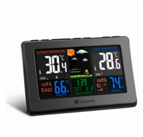 Houzetek W001 High-Definition Wireless Weather Station for Indoor and Outdoor Condition $36.99+FS @zanbase.