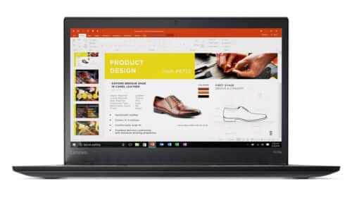 ThinkPad T470s, 14 FHD IPS, i5-6300U, 8GB (4+4), 256GB SSD, Win 10 Pro 64, FPR $499