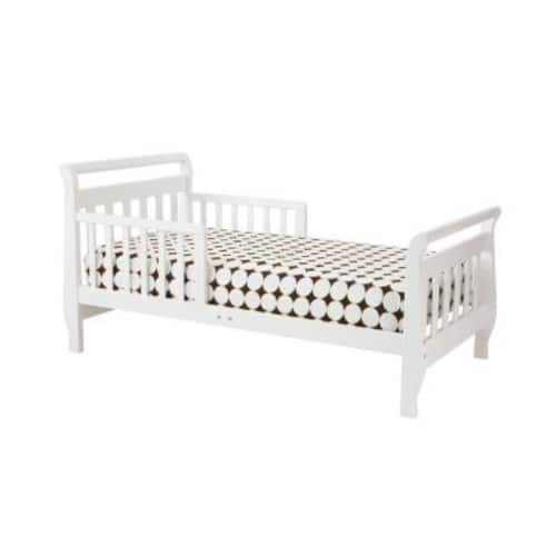 DaVinci Sleigh Toddler Bed, White $59@walmart