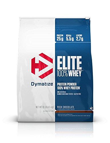 Dymatize Elite 100% Whey Protein Powder, Rich Chocolate, 10 Pounds $59.99 (56.99 w/ S&S) $56.99